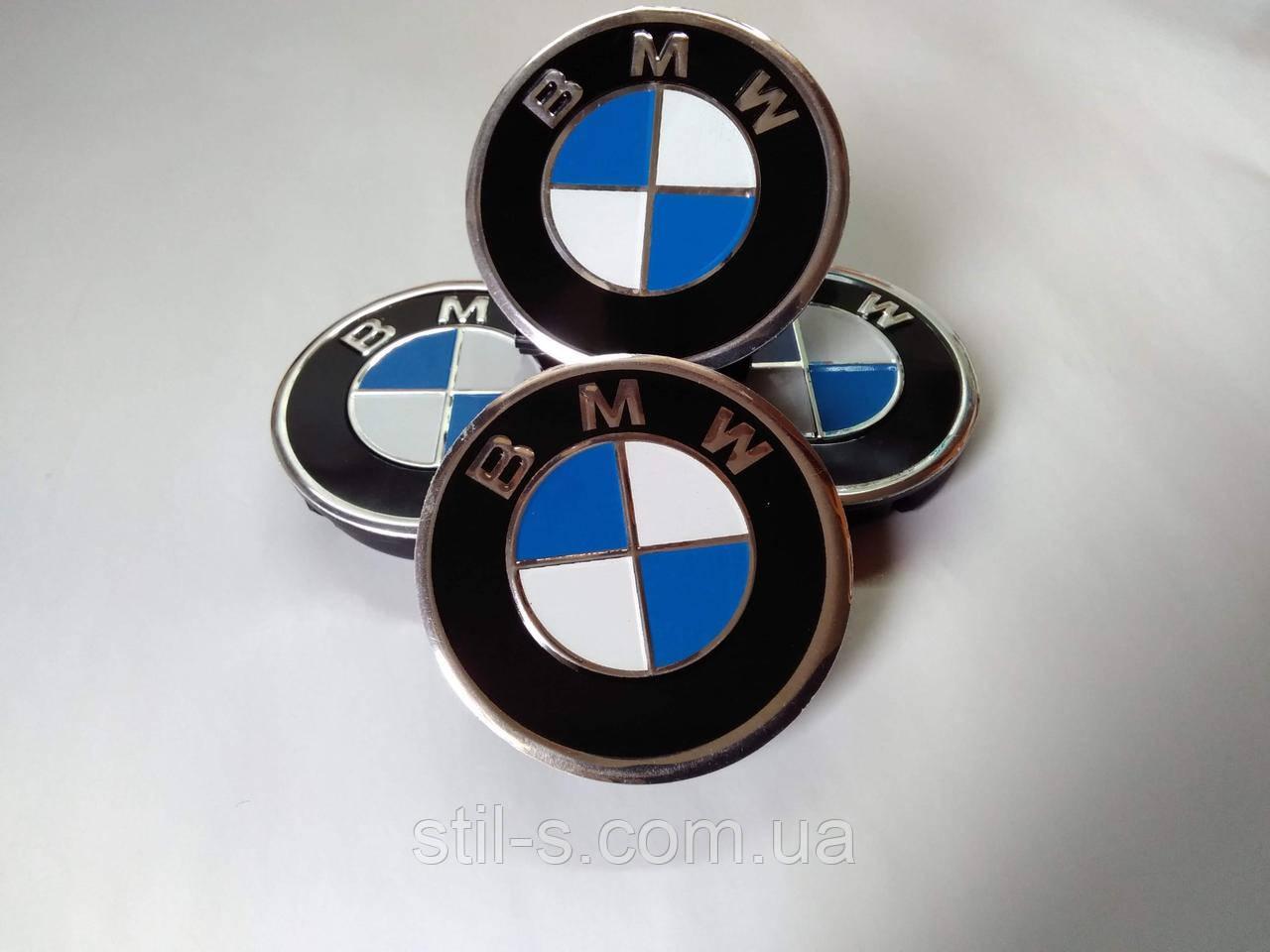 Заглушки на титановые диски BMW