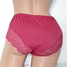 Трусы женские бордовый Lanny Mode, фото 3