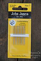 Набір голок для гладі John James #7