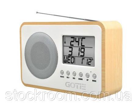 Радио с будильником Gotie GRA 100 S