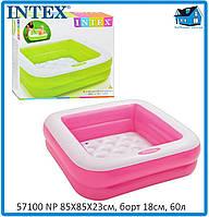 Надувной бассейн Intex  57100 NP