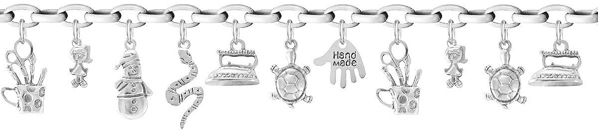 Браслет серебряный Hand made 501170