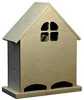 Чайный домик двойной, Окошко, 25х12х30см