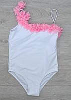 Модный слитный подростковый купальник для девочек, 30-38 разм