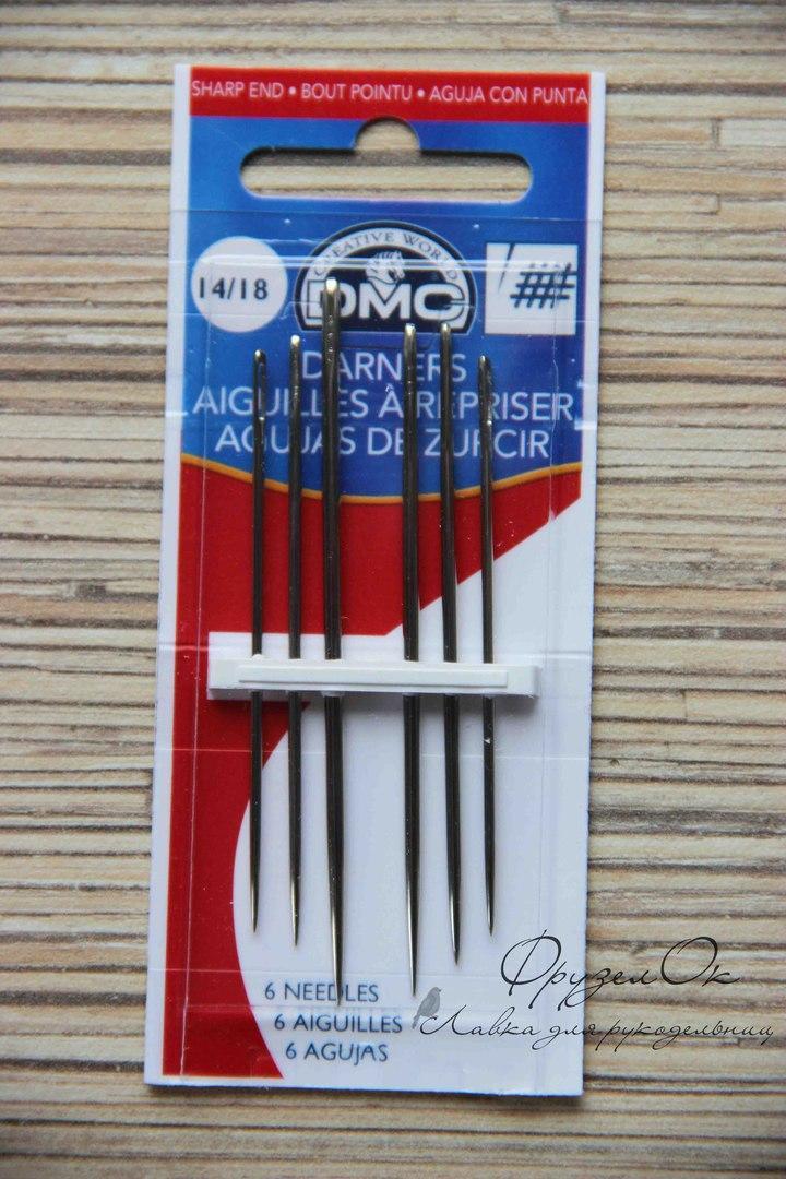 Голки для вишивки стрічками DMC #14/18
