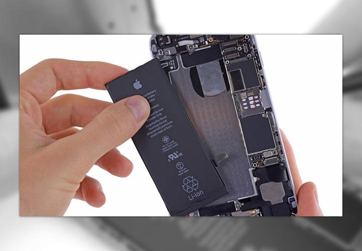 Инструкция для самостоятельной замены батареи iPhone 6 и iPhone 6 Plus
