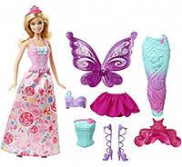 Барби сказочное перевоплощение Barbie Dreamtopia Fairytale Dress Up Doll