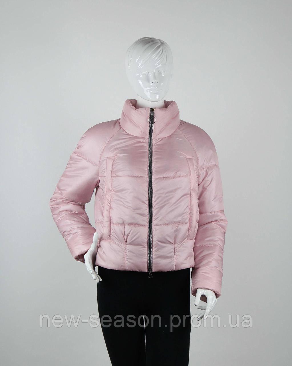 Куртка демисезонная бомбер Goods Fancy 2706 pink