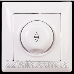 Светорегулятор 600W проходной Visage, Gunsan (белый и крем)