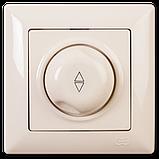 Светорегулятор 600W проходной Visage, Gunsan (белый и крем), фото 2