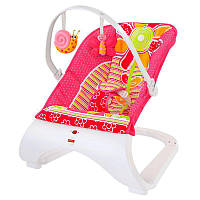 Кресло-качалка Fisher-Price Comfort Curve Bouncer, Floral Confetti