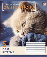 """Тетрадь 18 листов. линия """"Be my friend"""", 761540"""