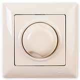Светорегулятор 1000W Visage, Gunsan (белый и крем), фото 2