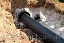 Безтраншейна прокладання трубопровода методом санації