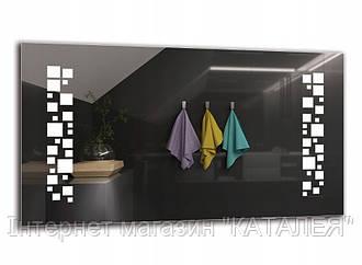 Дзеркало Arttor з підсвіткою LED M1ZP-46 DELUX Зеркало 119 варіантів