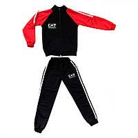 Спортивный костюм для мальчиков двунить в стиле Армани