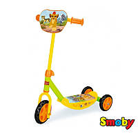 Детский самокат Трехколесный Lion Smoby 750140