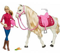 Барби и интерактивная лошадь Barbie Dreamhorse кукла и танцующая лощадь