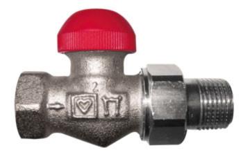 Термостатический клапан HERZ TS-90-V DN 20   проходной