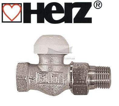 Термостатический клапан HERZ TS-90 3/4  проходной  DN 20 без предварительной настройки