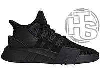 Мужские кроссовки Adidas EQT Basketball Adv Triple Black DA9537