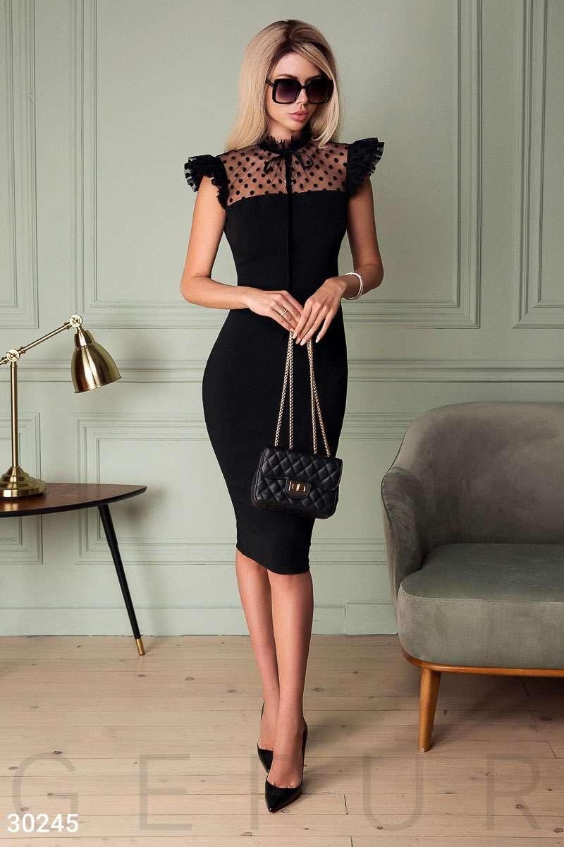 3667ba108b9414c Вечернее платье с рюшами, цена 680 грн., купить в Мариуполе — Prom ...