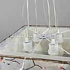 Люстра подвесная на 4 лампы 1-A021L/4P BK+WT, фото 4