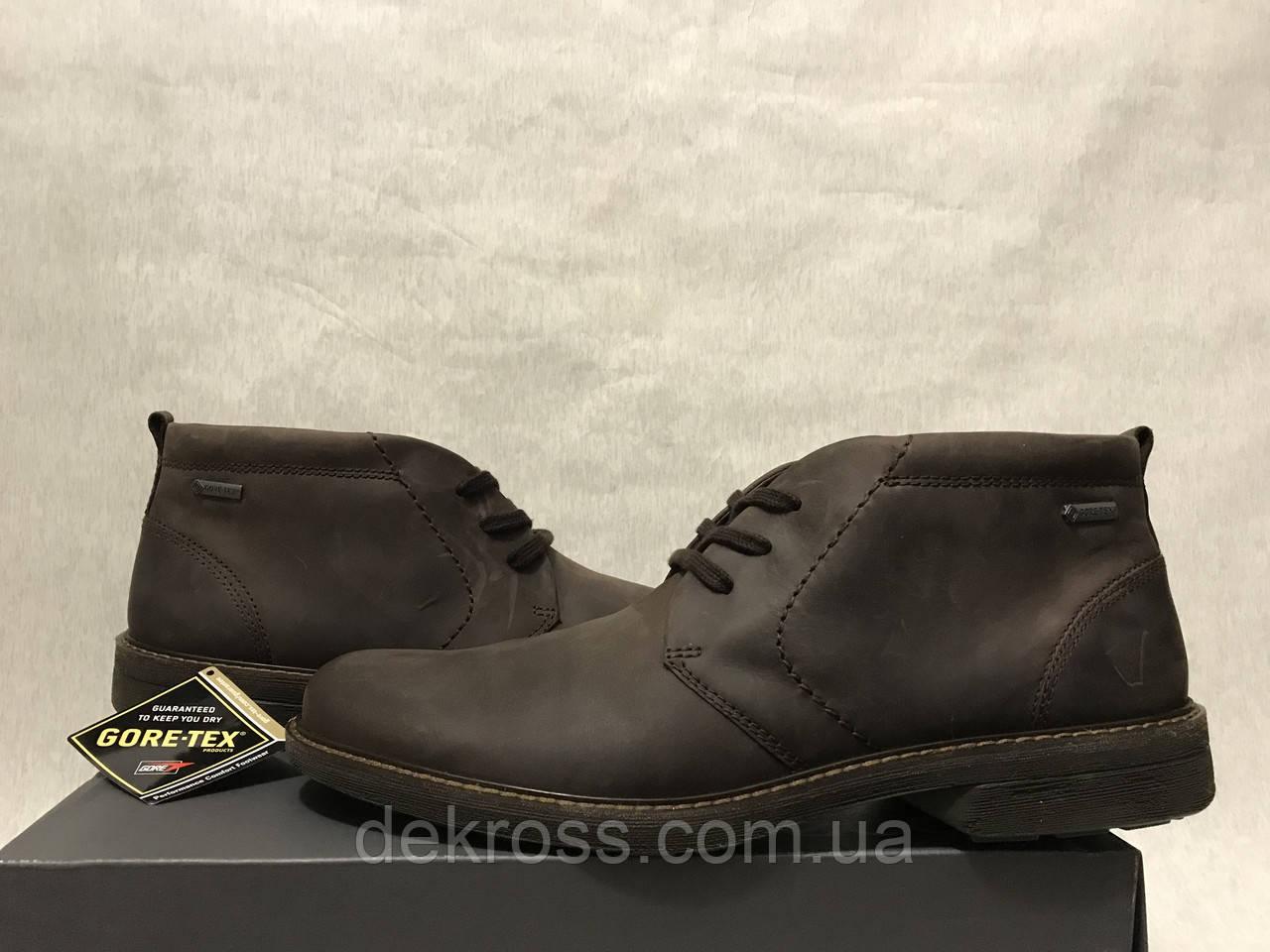 Ботинки Ecco Turn Moka Gore-Tex (45) Оригинал 510224