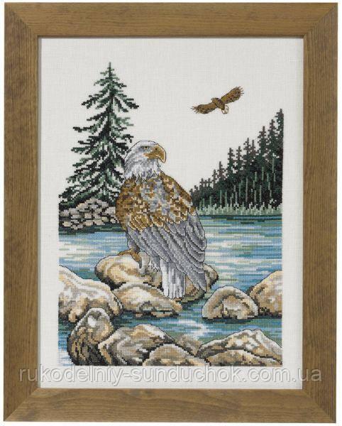 """Набір для вишивання хрестом ТМ Permin """"Морський Орел (Sea eagle)"""" 70-2170"""