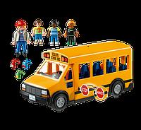 Playmobil 5680, большой школьный автобус с проблесковыми маячками