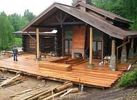 Террасы деревянные