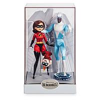Эксклюзивный набор игрушек Суперсемейка 2, Джек-Джек, Эластика, Фрион Disney