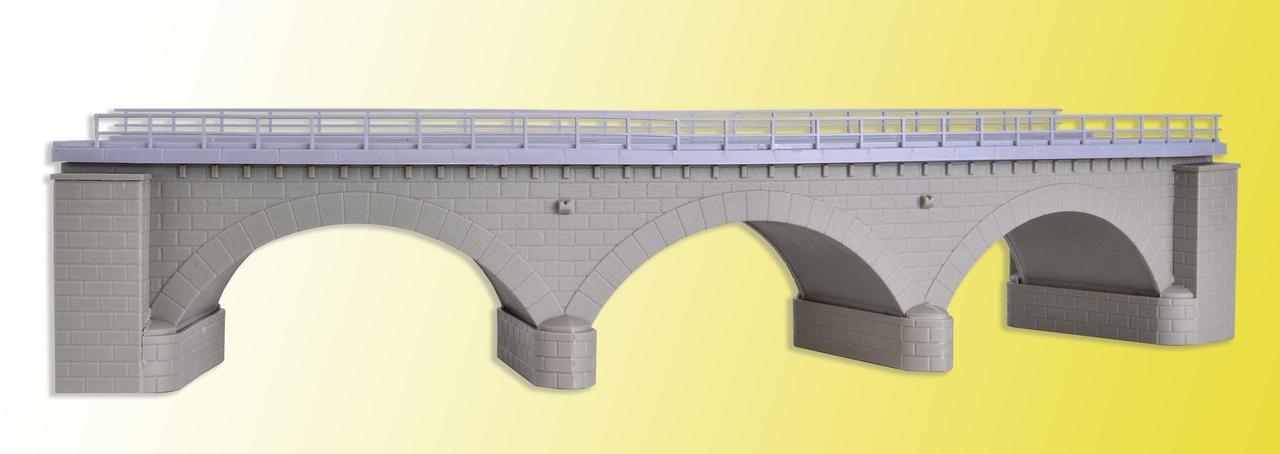 Kibri 39723  Мост радиусный каменный арочный длиной 34 см