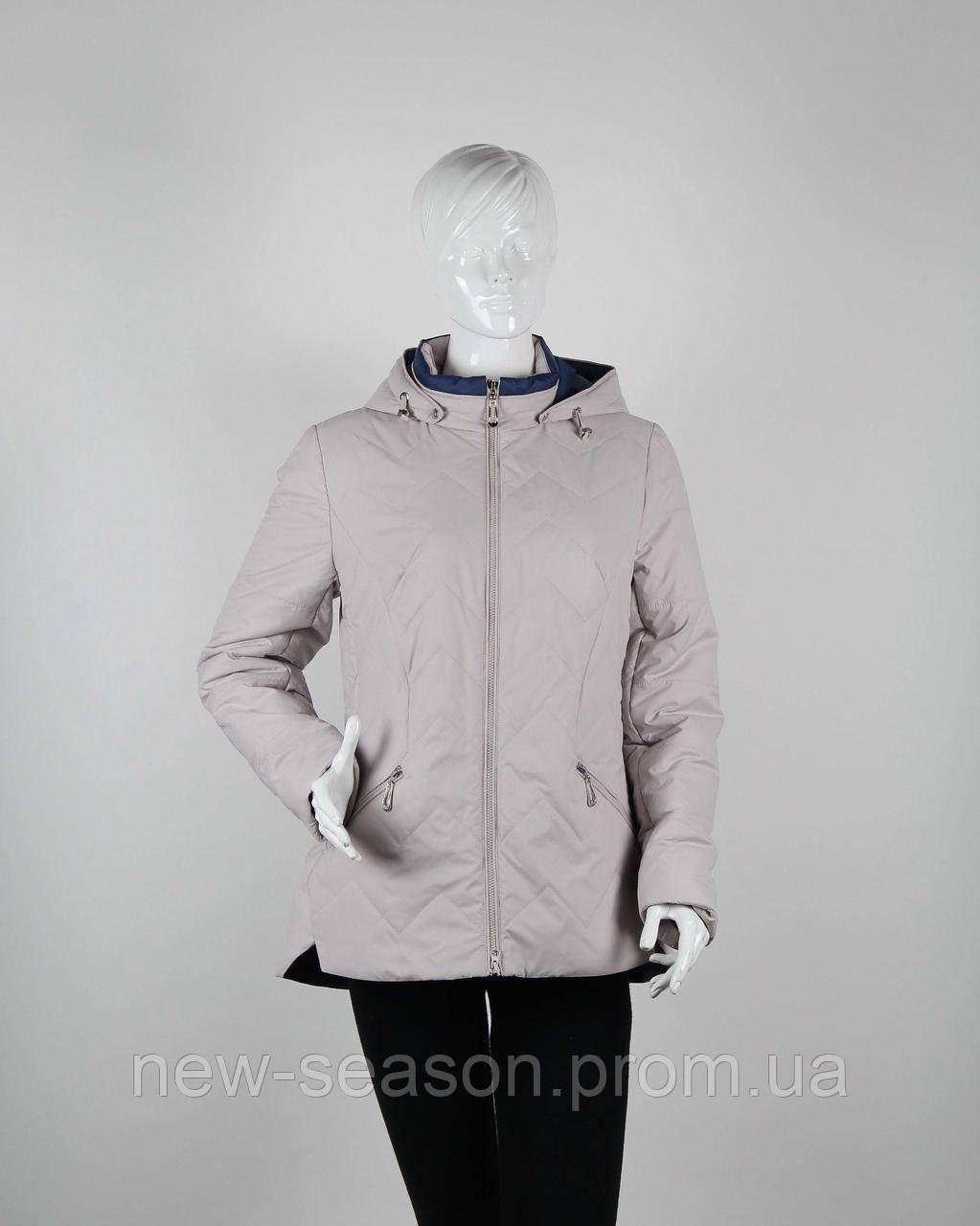 Куртка демисезонная Origa Рената пломбир василек