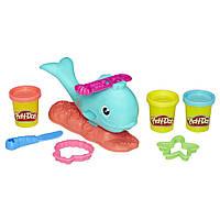 Play-Doh Wavy the Whale набор пластилина Плей до Кит Дельфин