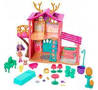 Игровой набор Лесной домик Оленица Данесса Enchantimals Cosy House