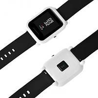 Amazfit Bip Защитный силиконовый чехол для смарт часов, White, фото 5
