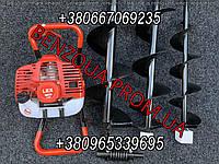 Мотобур LEX GD520 + 3 шнека 5200 Вт 15/20/25 см, землебур