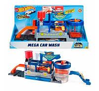 Набор игровой Hot Wheels City Mega Car Wash Сити Мега-автомойка FTB66