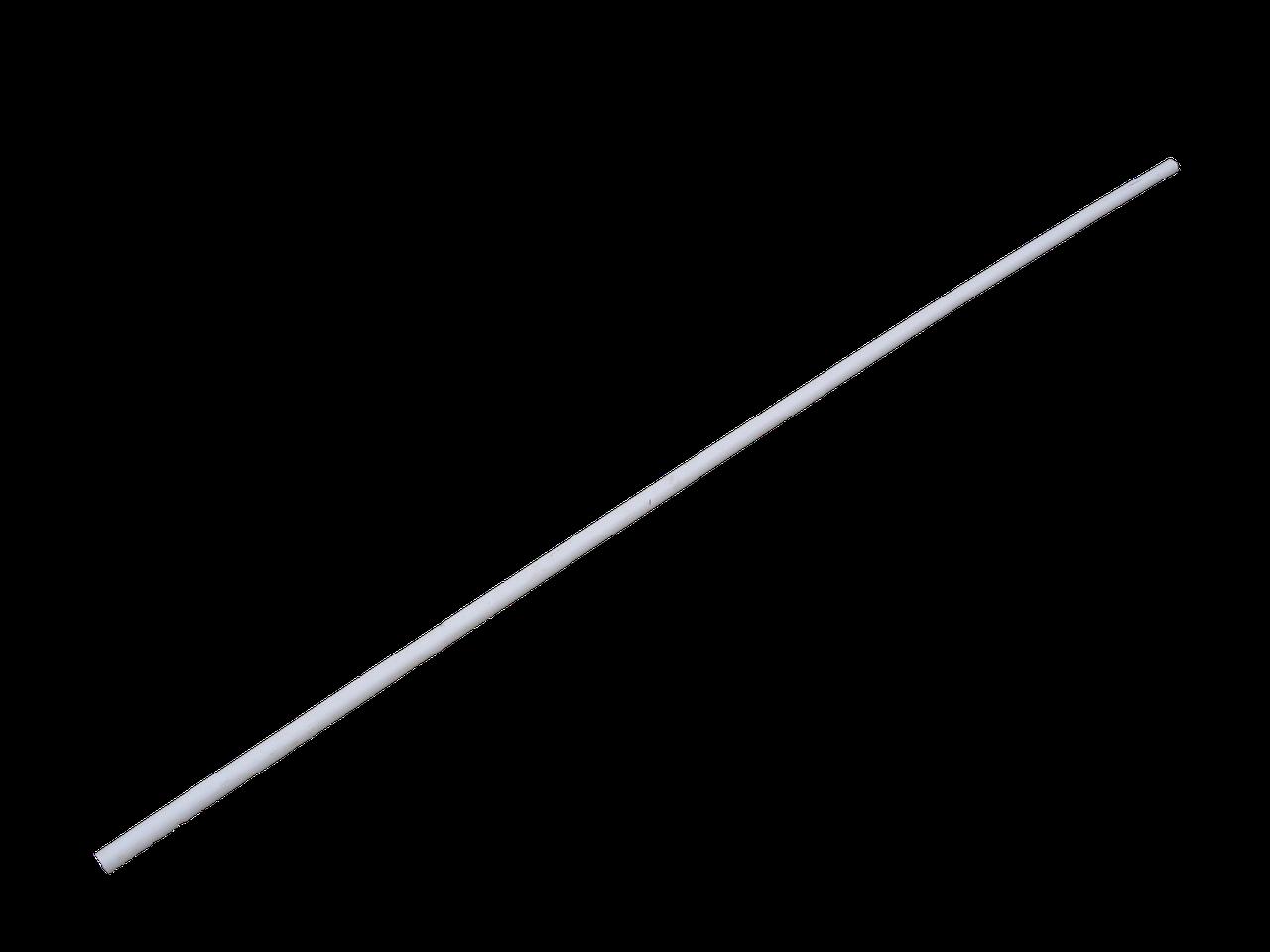 Труба пластиковая для поения 2 м Трубы для клеток Для ниппельных поилок