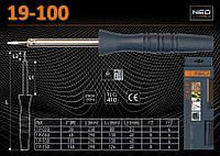 Паяльник электрический P-100Вт, NEO 19-100