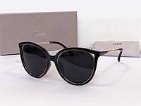 Женские брендовые солнцезащитные очки (378) черные