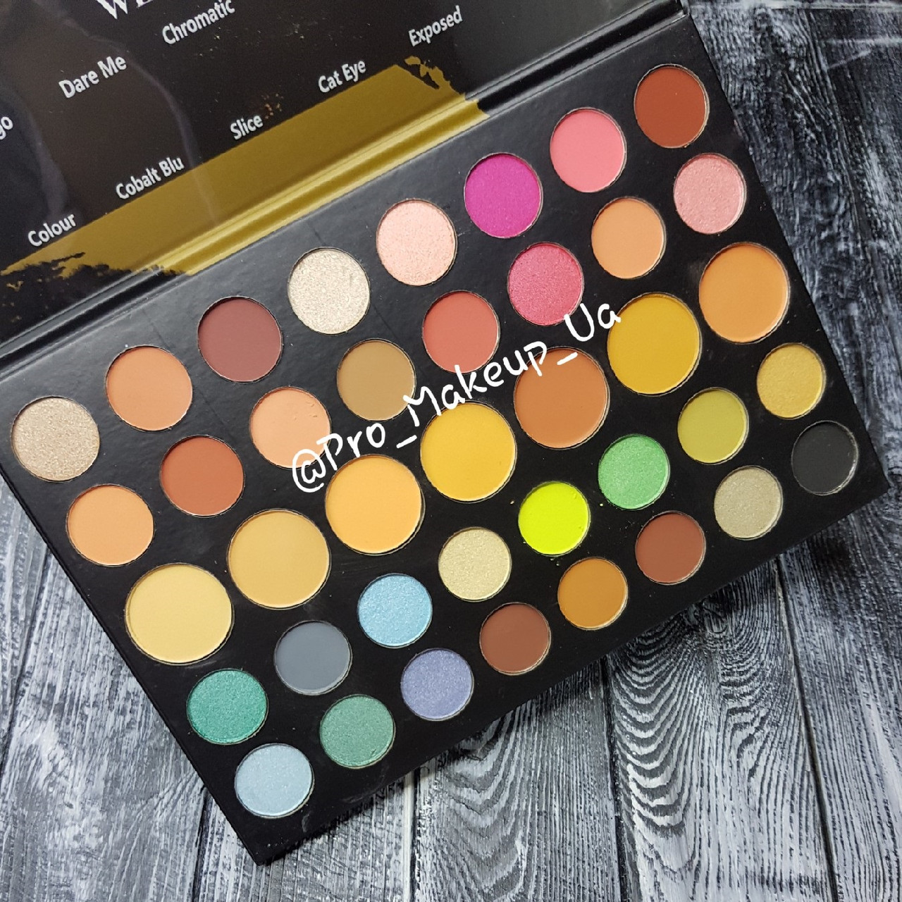 Тени для век Morphe Dare to Create Eyeshadow Palette 39A