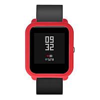 Amazfit Bip Защитный силиконовый чехол для смарт часов, Red, фото 2
