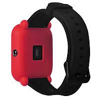 Amazfit Bip Защитный силиконовый чехол для смарт часов, Red, фото 4
