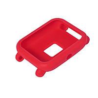 Amazfit Bip Защитный силиконовый чехол для смарт часов, Red, фото 6