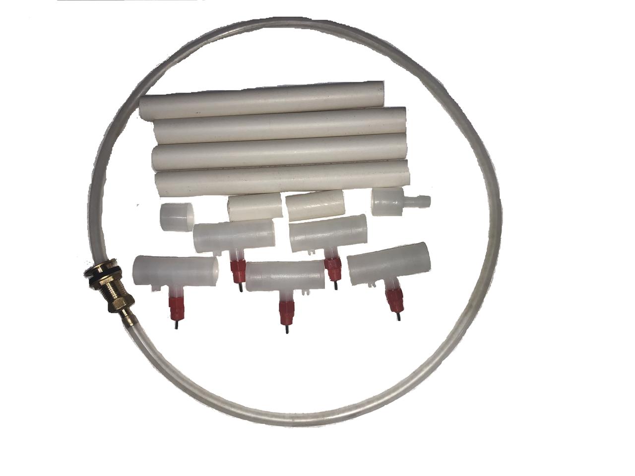Комплект ниппельного поения на 50 голов Ниппельные поилки, фото 1