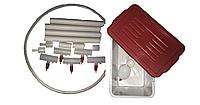 Комплект ниппельного поения на 50 голов с бачком Ниппельные поилки, фото 1