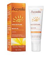 Органическое масло для загара Acorelle,75 мл