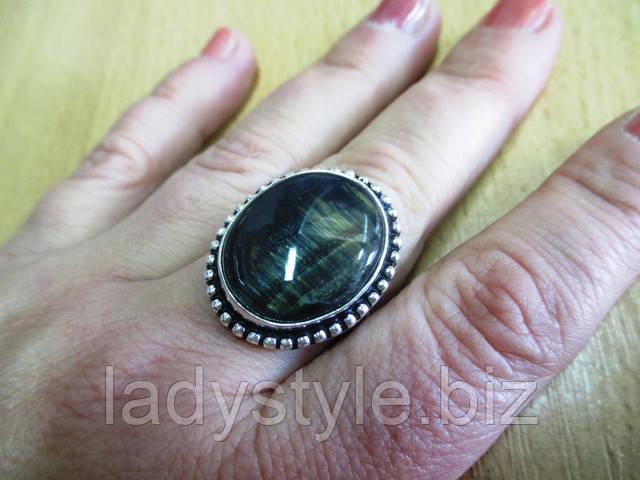 купить украшения кольцо перстень соколиный глаз тигровик серьги кулон